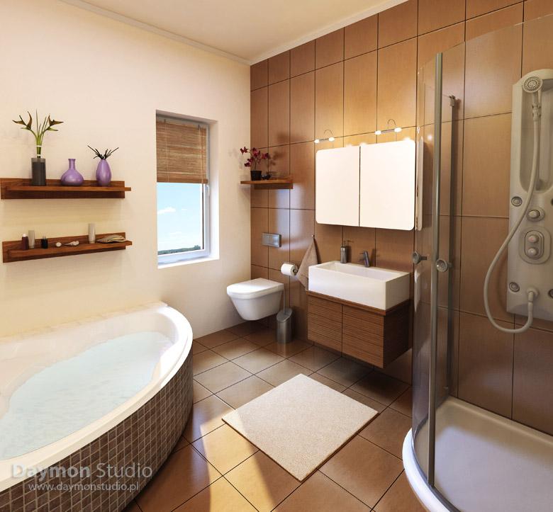 Wizualizacje Nowoczesnych łazienek